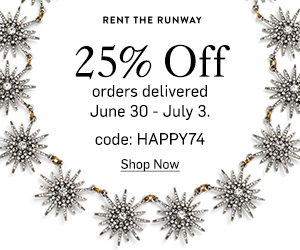 Rent the Runway 4th of July Sale!