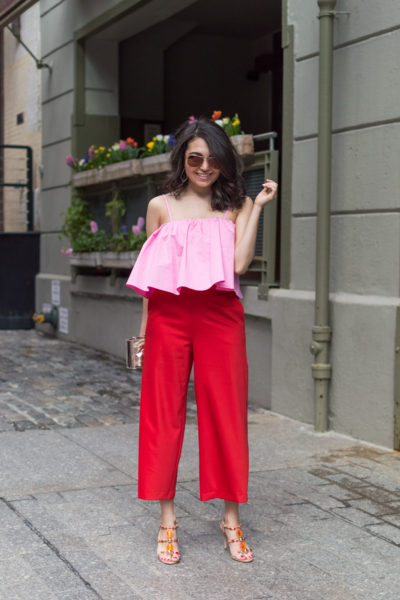 Color Blocking and 10 Facts About Me